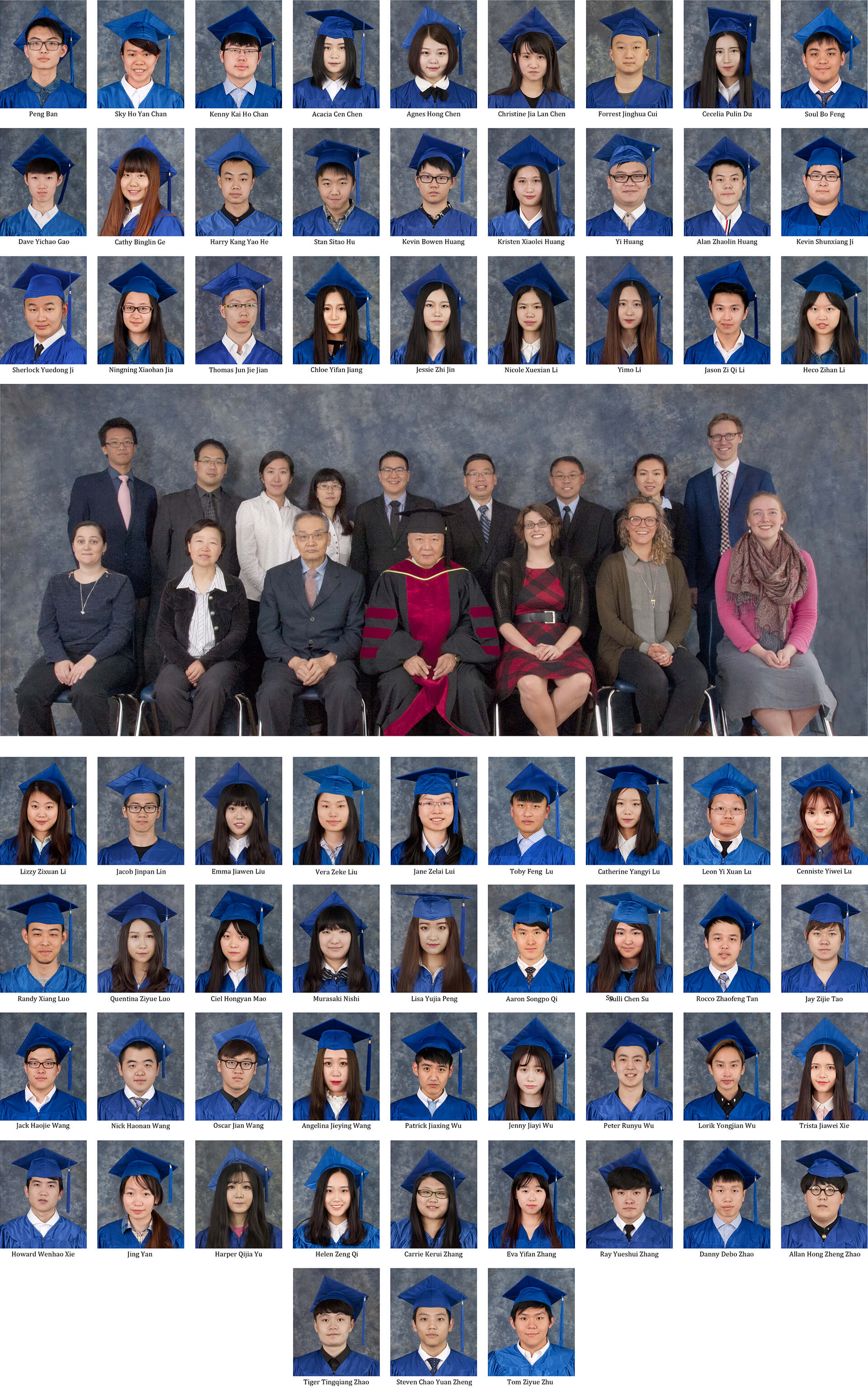 Royal Canadian College Grads 2016